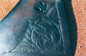 Fig 1. F. A. Meanea carved panel